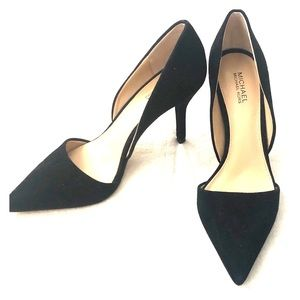 Michael Kors gorgeous soft black pumps.  Worn once